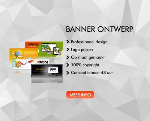 Banner ontwerp XLOGO Logo ontwerp flyer ontwerp huisstijl ontwerp visitekaartje ontwerp drukwerk scherpe tarieven