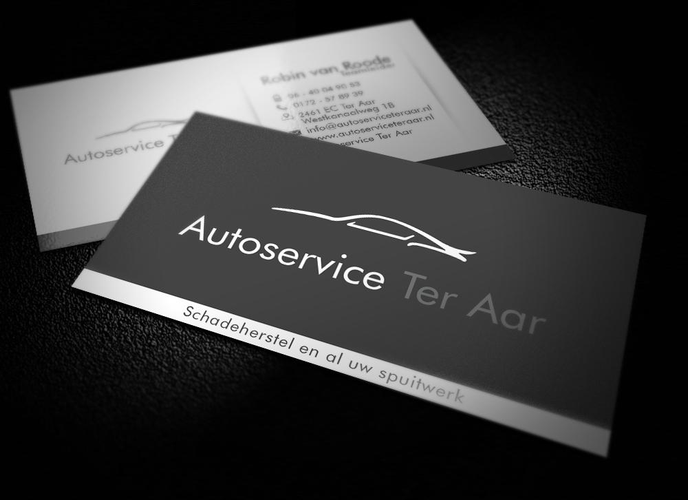 Autoservice Ter Aar Visitekaartjes